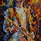 KURT COBAIN - LEONID AFREMOV by Leonid  Afremov