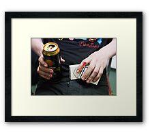 Post-gig Framed Print