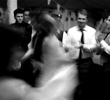 Dancing bride by Pamela Rose Sime