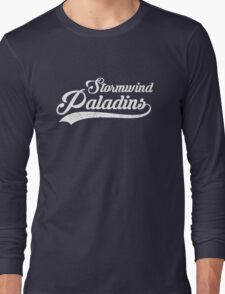 Stormwind Paladins Sports Long Sleeve T-Shirt