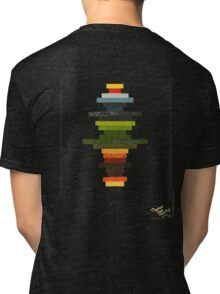 The Obfuscated Cross  (T-shirt) Tri-blend T-Shirt