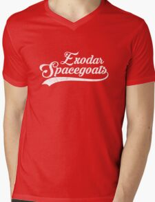 Exodar Spacegoats Sports Mens V-Neck T-Shirt