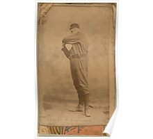 Benjamin K Edwards Collection Bakely Cleveland Blues Spiders and Infants baseball card portrait Poster