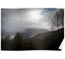 The Scottish Highlands No.13 - The Summit Poster