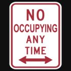 No Occupying by Charles McFarlane