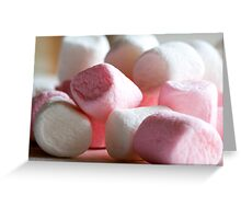 Mallow Out Man Greeting Card