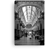 Block Arcade - Melbourne Canvas Print