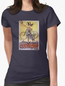 Cycles Clément 1898 Vintage Advertising Poster T-Shirt