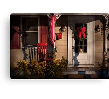 Winter - Christmas - Clinton, NJ - How much is that doggy in the window Canvas Print