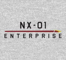ST Registry Series - NX Enterprise Large Logo by Christopher Bunye