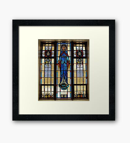 Mary. Framed Print