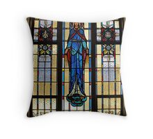 Mary. Throw Pillow