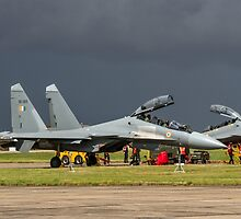 """Sukhoi Su-30MKI """"Flanker-F"""" SB065 ready to rumble by Colin Smedley"""