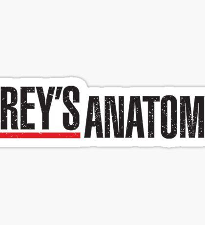 Grey's Anatomy Logo Sticker