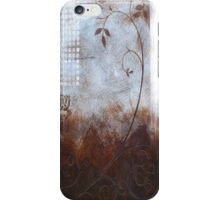 Splashy Umber  iPhone Case/Skin