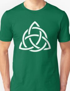 Triquetra, power of three Unisex T-Shirt