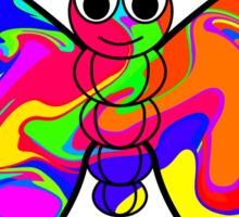 Colorful Butterfly Sticker