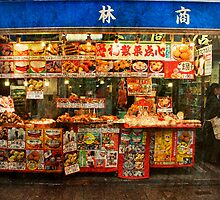 Nankinmachi Food Stand by Lynnette Peizer