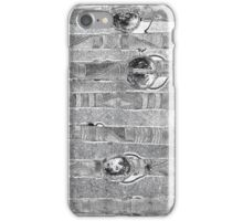 Abstract #1 in Black & White iPhone Case/Skin