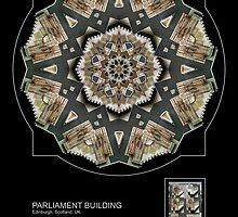 PARLIAMENT BUILDING, EDINBURGH SCOTLAND by PhotoIMAGINED