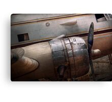 Transportation - Plane - A little rough around the edges Canvas Print