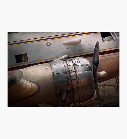 Transportation - Plane - A little rough around the edges Photographic Print