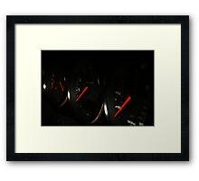 Porsche 993 Muscles  Framed Print