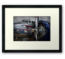 Transportation - Plane - Hey fly boy  Framed Print