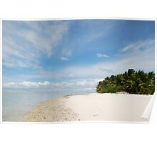 South End, West Island - Cocos (Keeling) Islands Poster