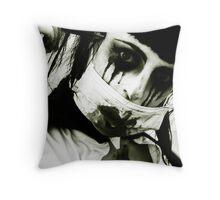 Zombie Nurse. Throw Pillow