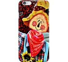 The Scarecrow Collaboration - phone case   iPhone Case/Skin