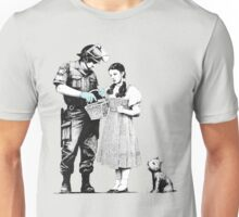 "Banksy ""Stop and Search"" Unisex T-Shirt"