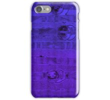 Abstract #1 in Graduated Blue & Purple iPhone Case/Skin