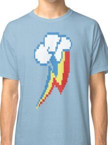 8-Bit Rainbow Dash Cutie Mark Classic T-Shirt