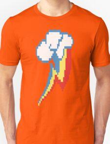 8-Bit Rainbow Dash Cutie Mark Unisex T-Shirt