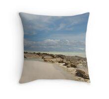 Pulu Maraya - Cocos (Keeling) Islands  Throw Pillow
