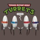 Teenage Mutant Ninja Turrets by Tom Trager