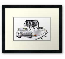 Porsche 356 BT6 Carrera Framed Print