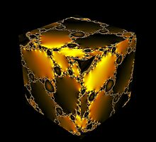 Cubic Fractal by Hugh Fathers