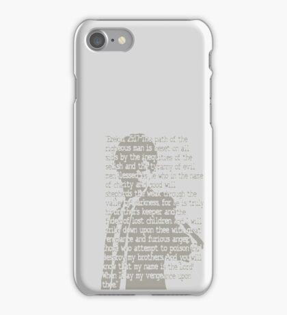 EZEKIEL 25 . 17 iPhone Case/Skin