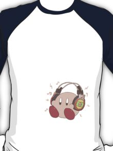 Kirby Sound Test Headphones T-Shirt