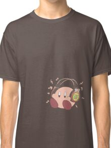 Kirby Sound Test Headphones Classic T-Shirt