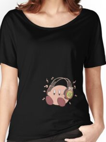 Kirby Sound Test Headphones Women's Relaxed Fit T-Shirt