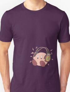 Kirby Sound Test Headphones Unisex T-Shirt