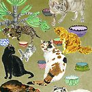 The Cats of R. by EllenCoffin