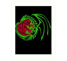 Dungeons and Dragons - Custom Colors Available! Art Print