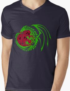 Dungeons and Dragons Mens V-Neck T-Shirt
