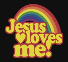 Jesus Loves Me One Piece - Long Sleeve