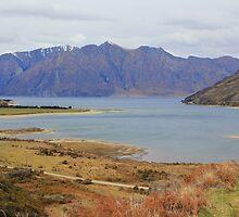 Lake Hawea South Island NewZealand by Martin  Brinsley