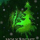 HOLY NIGHT CARD by Esperanza Gallego